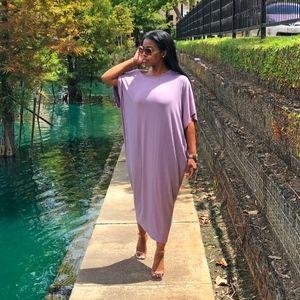 Dresses - Lavender Maxi Dress
